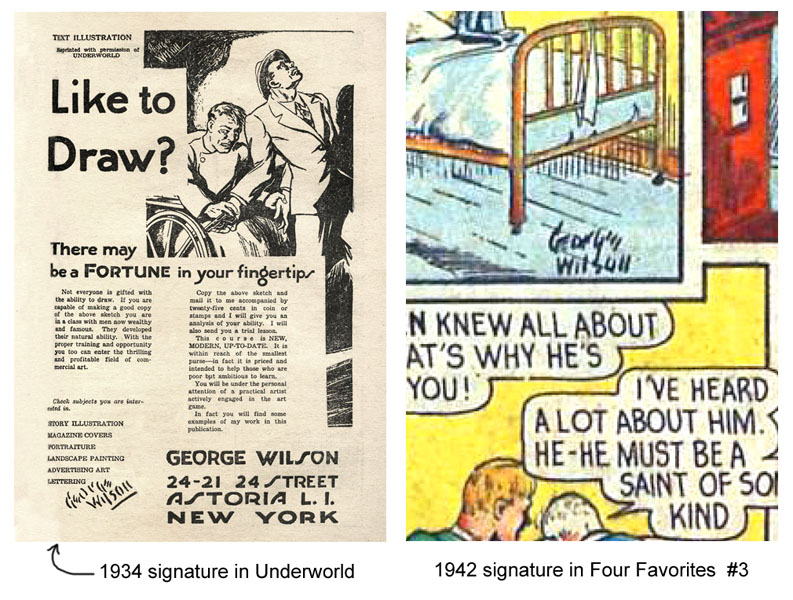 who is george wilson